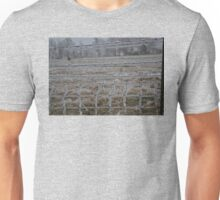winter fence Unisex T-Shirt