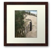Dune Anchor Framed Print