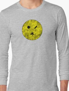 Preacher - Arseface - Yellow Dirty Long Sleeve T-Shirt