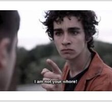 Misfits Nathan Quote Sticker