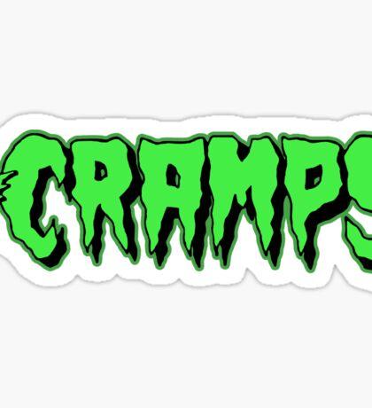 The Cramps GREEN FUZ Sticker