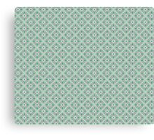 Graphic Flower Pattern Canvas Print