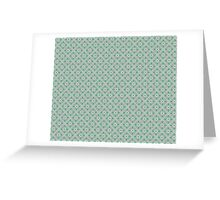 Graphic Flower Pattern Greeting Card