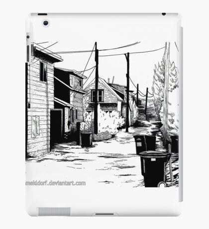 Residential Alley iPad Case/Skin