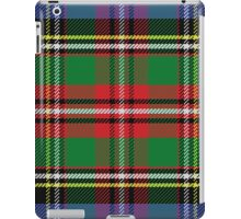 Scottish tartan, red and green, blue and yellow iPad Case/Skin