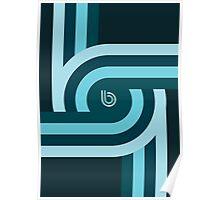 Twisting Bauhaus Poster