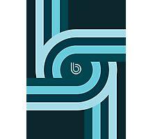 Twisting Bauhaus Photographic Print