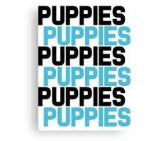 Puppies Overload Canvas Print