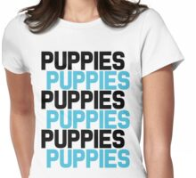 Puppies Overload Womens Fitted T-Shirt