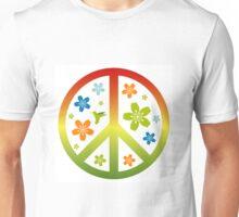 Love Peace Symbol Illustration Unisex T-Shirt