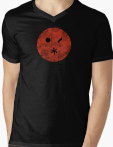 Preacher - Arseface - Red Dirty Mens V-Neck T-Shirt