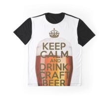 Drink Craft Beer Graphic T-Shirt
