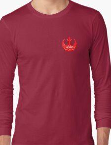 Rebellion Typography Long Sleeve T-Shirt