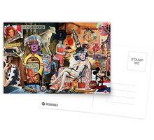Warhol Reclining. Postcards