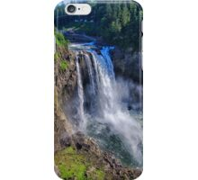 Snoqualmie Falls In Spring iPhone Case/Skin
