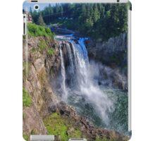 Snoqualmie Falls In Spring iPad Case/Skin