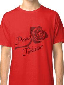 Vampire the Masquerade: Proud Toreador Classic T-Shirt