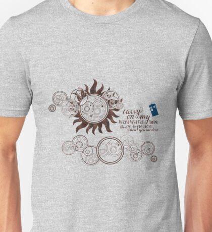 Carry on my Wayward Doctor Unisex T-Shirt