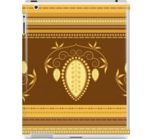 Retro Floral Decor Illustration iPad Case/Skin