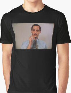 John Waters Says Smoke Graphic T-Shirt