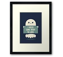 The obvious Framed Print
