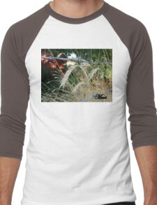 bobwire fence Men's Baseball ¾ T-Shirt