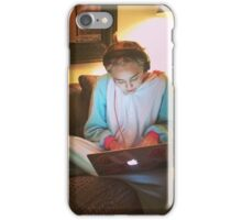 Miley Cyrus - On Computer iPhone Case/Skin