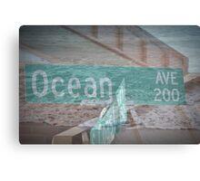 Ocean Avenue Canvas Print