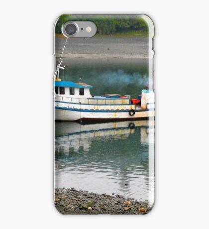 Lancha de pescadores... iPhone Case/Skin