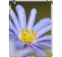 Greek anemone iPad Case/Skin