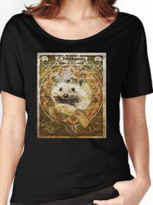 Art Nouveau Hedgehog Women's Relaxed Fit T-Shirt
