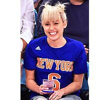Miley Cyrus - NY 2016 Photographic Print
