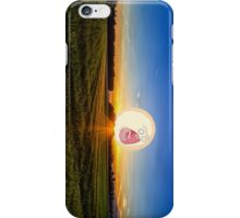SCREAMING SUNRISE GRASS FIELD RICK AND MORTY iPhone Case/Skin