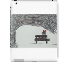 The Girl With The Red Ribbon iPad Case/Skin