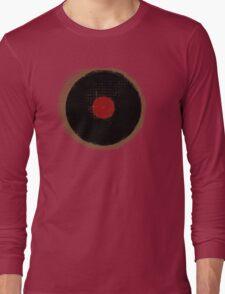Grunge Vinyl Record Vintage T-Shirt Long Sleeve T-Shirt