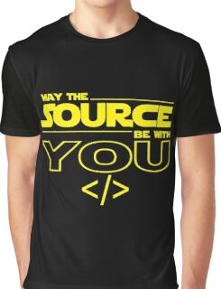 May the Source be with You Graphic T-Shirt
