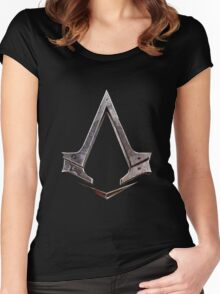 Assassin's Creed symbol Women's Fitted Scoop T-Shirt