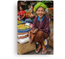 Will Granny Get Anything ? Canvas Print