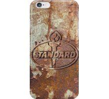 Old rusty logo iPhone Case/Skin