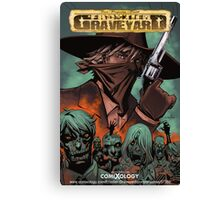 Frontier Graveyard #1 Cover Canvas Print