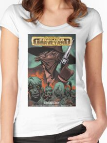 Frontier Graveyard #1 Cover Women's Fitted Scoop T-Shirt