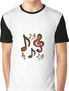 dancing notes Graphic T-Shirt