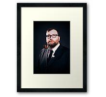 The Rev. Daisher Rocket Framed Print