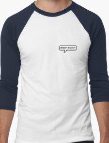 #TEAM BUCKY - blue Men's Baseball ¾ T-Shirt