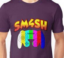 Smash 4 with Gamecube Controller Unisex T-Shirt