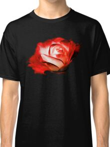 Rose On Fire Classic T-Shirt