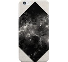 Space Diamond - Abstract, Geometric Space Scene iPhone Case/Skin