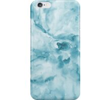 Abstract Blue Watercolor iPhone Case/Skin