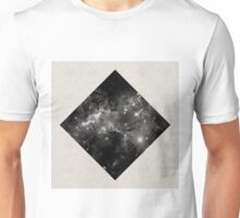 Space Diamond - Abstract, Geometric Space Scene Unisex T-Shirt