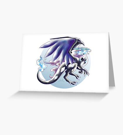 Mega Suizard X Greeting Card